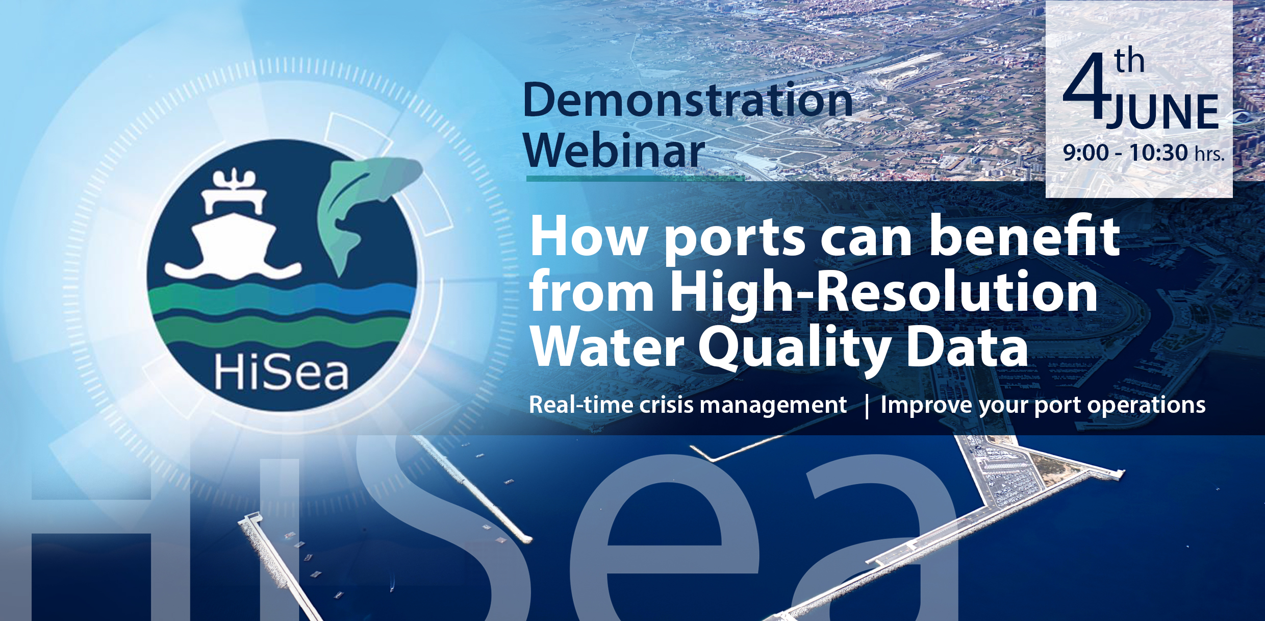 HiSea to demonstrate the value of high-resolution water quality data services brings to sea ports
